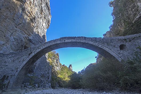 Noutsos Bridge (co-ordinates : 39.861578, 20.774828)