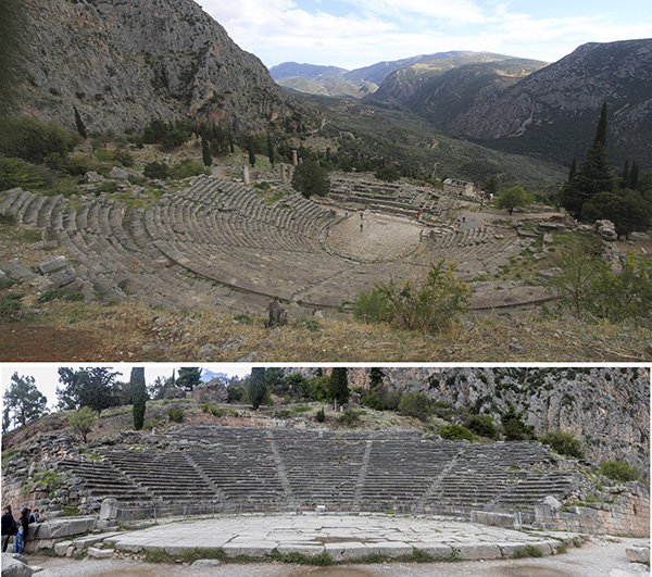 Ancient Theatre that could sit 5000