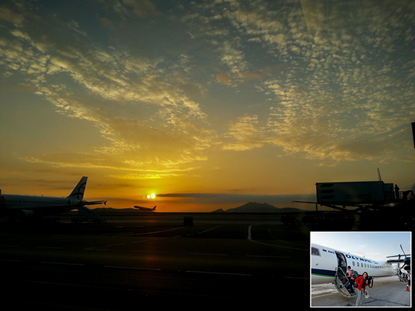 Athens Airport – Morning view