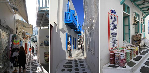 Alleys of Mykonos Town