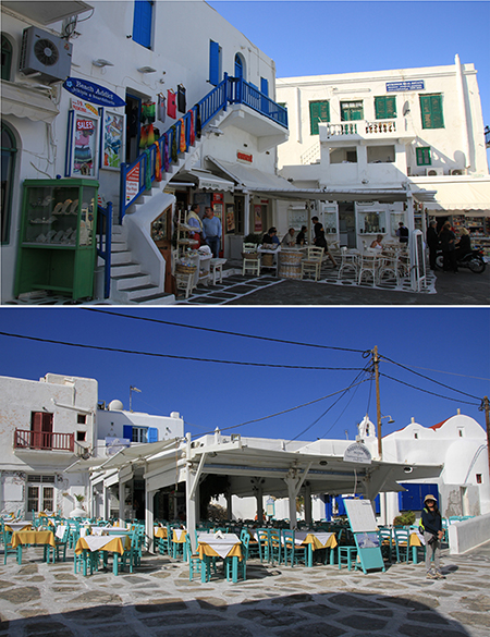 Mykonos Old Port Waterfront