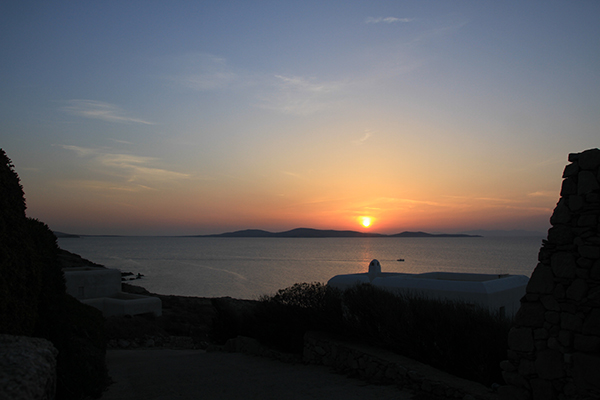 West end of Mykonos