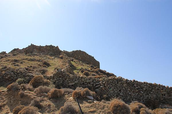 Gyzi Castle (co-ordinates: 37.454143, 25.389134)