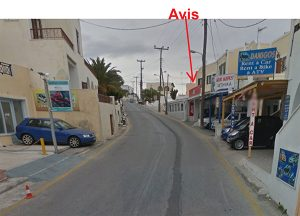 Avis outlet in Fira