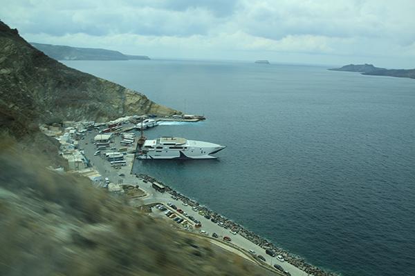 New port, Athinios of Santorini