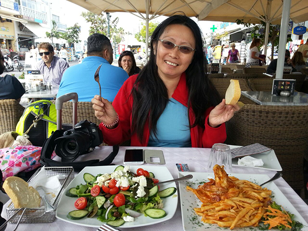Lunch at Vithos Cafe