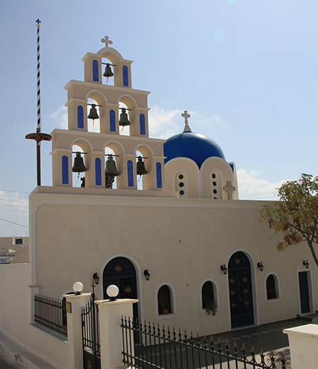 Church beside Akrotiri Castle