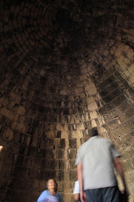 Interior of tholos tomb