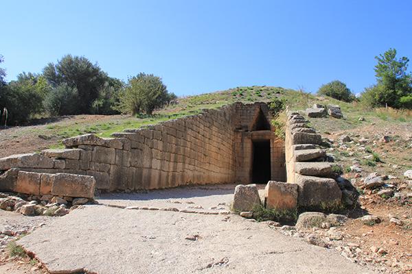 Tomb of Agamemnon, Treasury Atreus (co-ordinates: 37.726824, 22.754105)