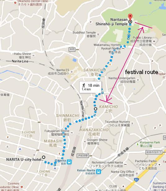 Festival Route