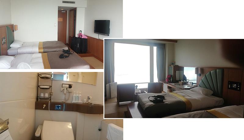 Twin room at Tsuruga Resort