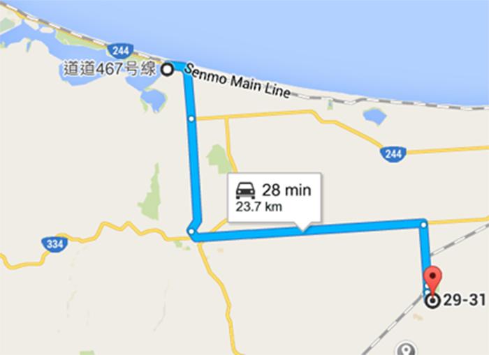 Route to Kiyosato Town