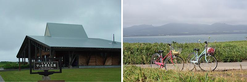 Wakka Natural Flower Garden Visitor Center Bike rental @ Y600/day