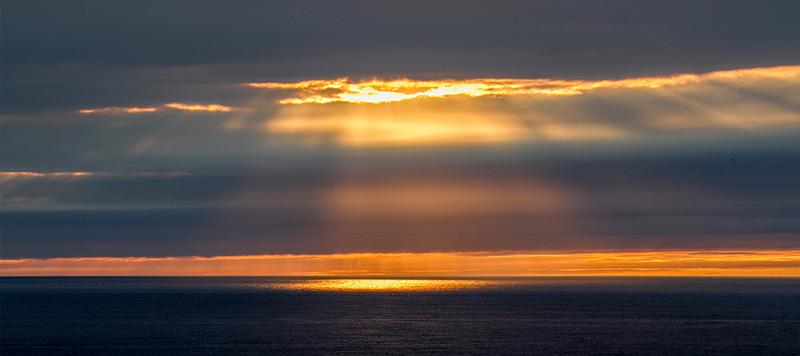 Beautiful Sunset as seen from Yuuhidai Sunset Point