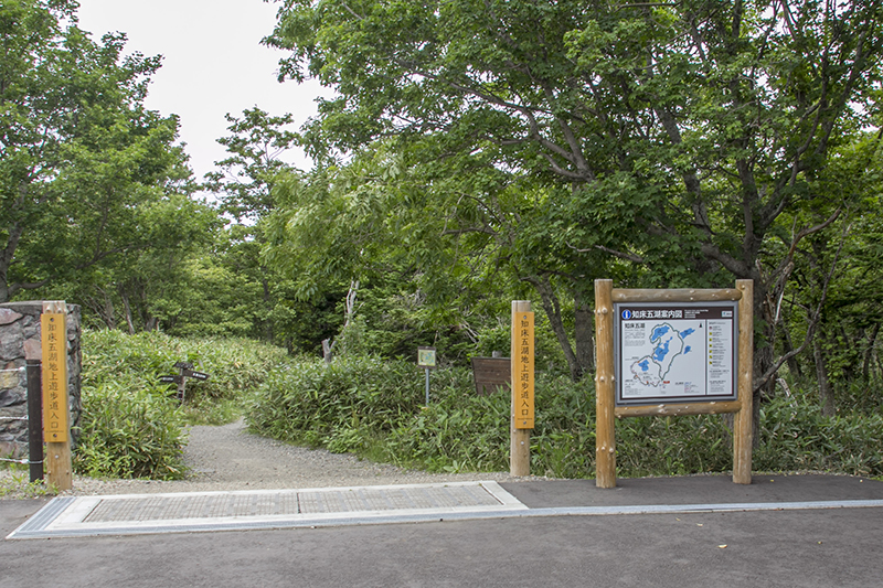 Entrance to the ground trail