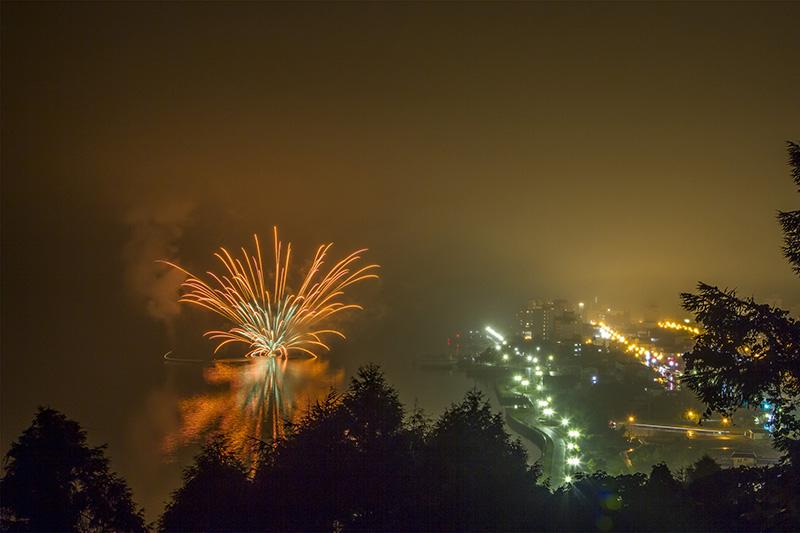 Lake Toya Firework