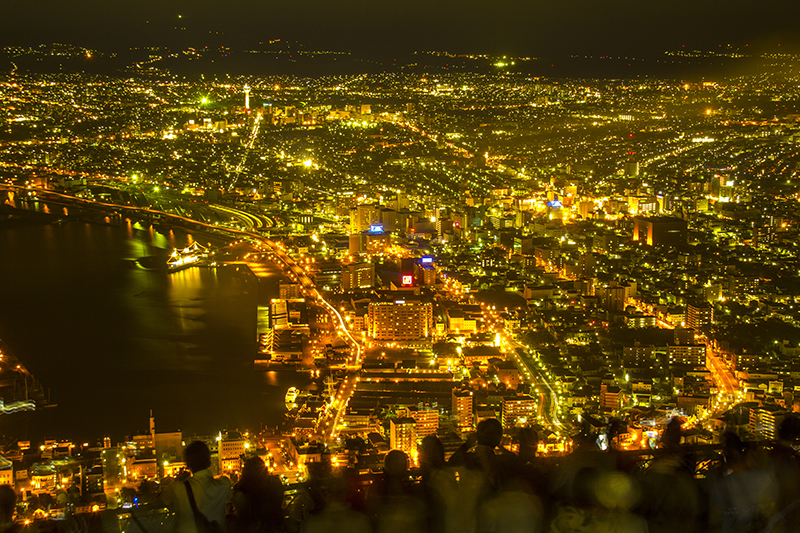 Hakodate City at Night