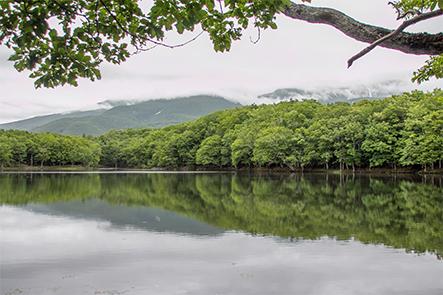 One of Shiretoko Lakes