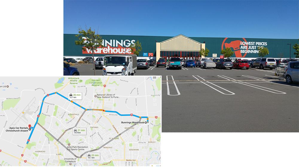 Christchurch Bunnings Warehouse