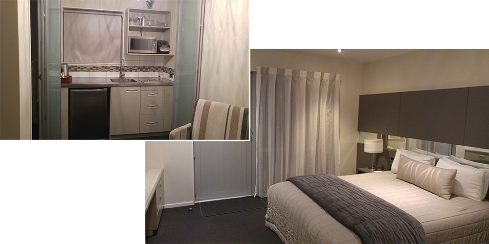 Our double room at Airport Gateway Motor Lodge