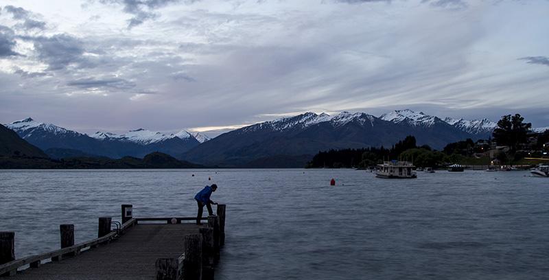 Lake Wanaka (blue hour)