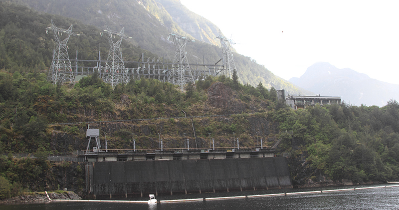 Manapouri Hydro Electric Plant