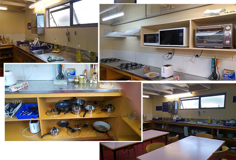 Guest Kitchen at Wanaka Hotel