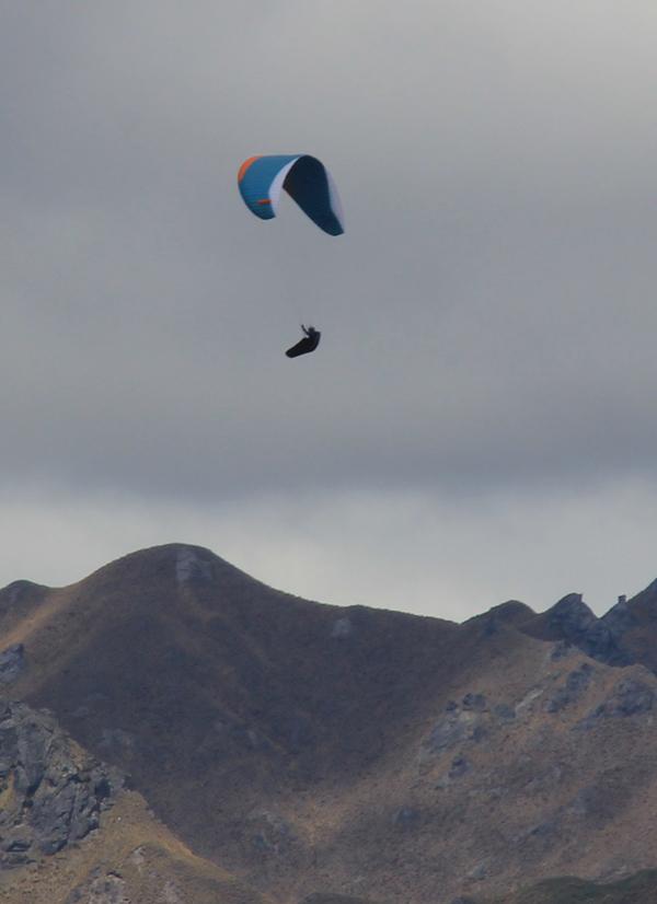 Para glider at Wanaka