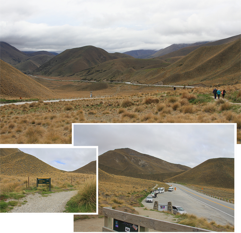 Lindis Pass View Deck