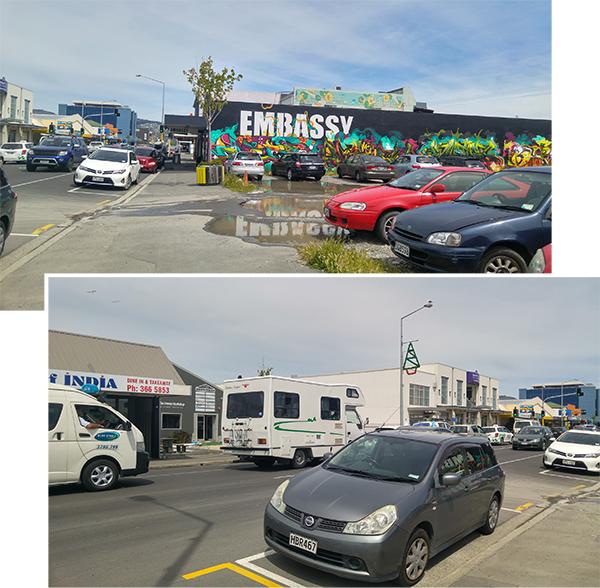 Christchurch town center