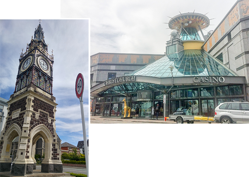 Victoria Clock Tower and Casino of Christchurch