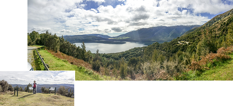 Lake Rotoiti from the top