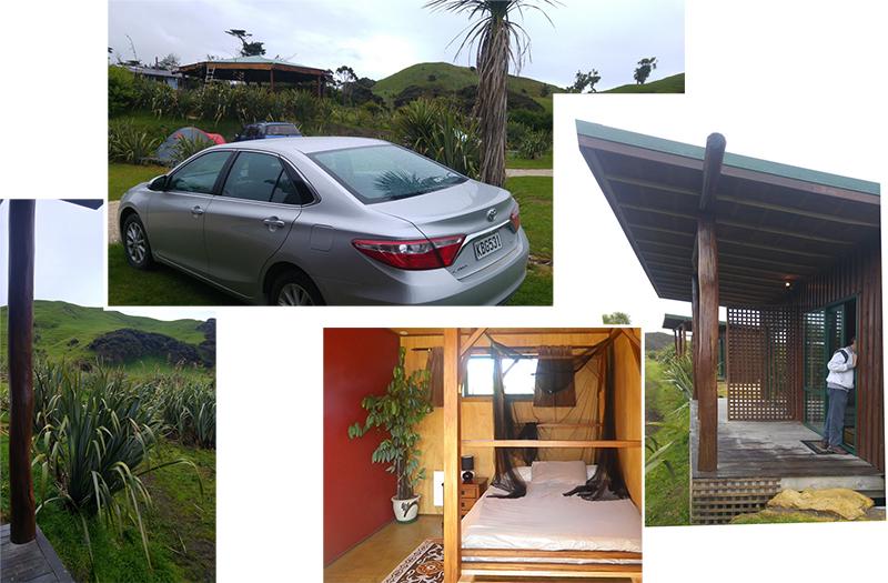 Our room at Wharariki Beach Holiday Park