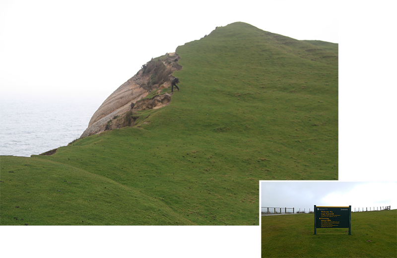 Hilly slope at Cape Farewell