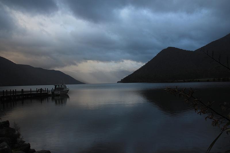 Lake Rotoroa at 7.45pm