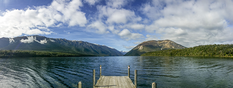 Kerr Bay Jetty at Lake Rotoiti