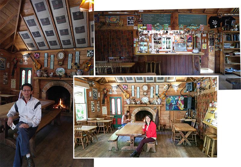 Interior Deco of Mussel Inn