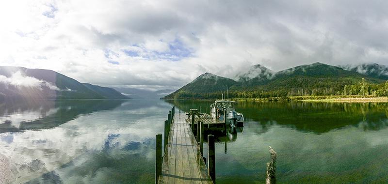 Lake Rotoroa at 8am