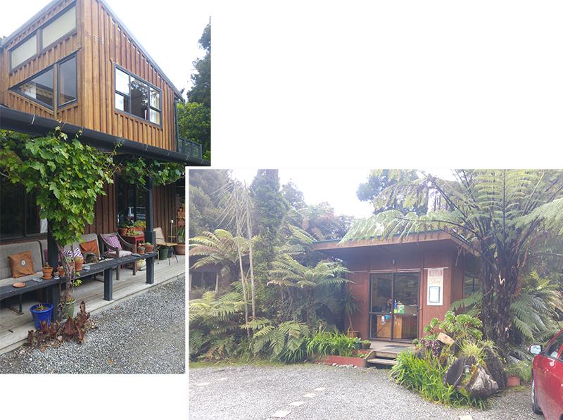 Te Nikau Retreat - Reception & Te Ruru Lodge (shared facilities)