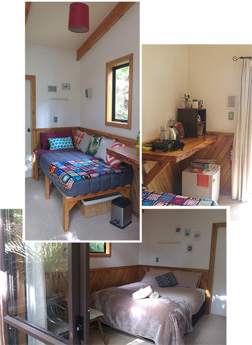 """Taking the """"jungle"""" path to our room - """"Hideaway Cottage"""""""