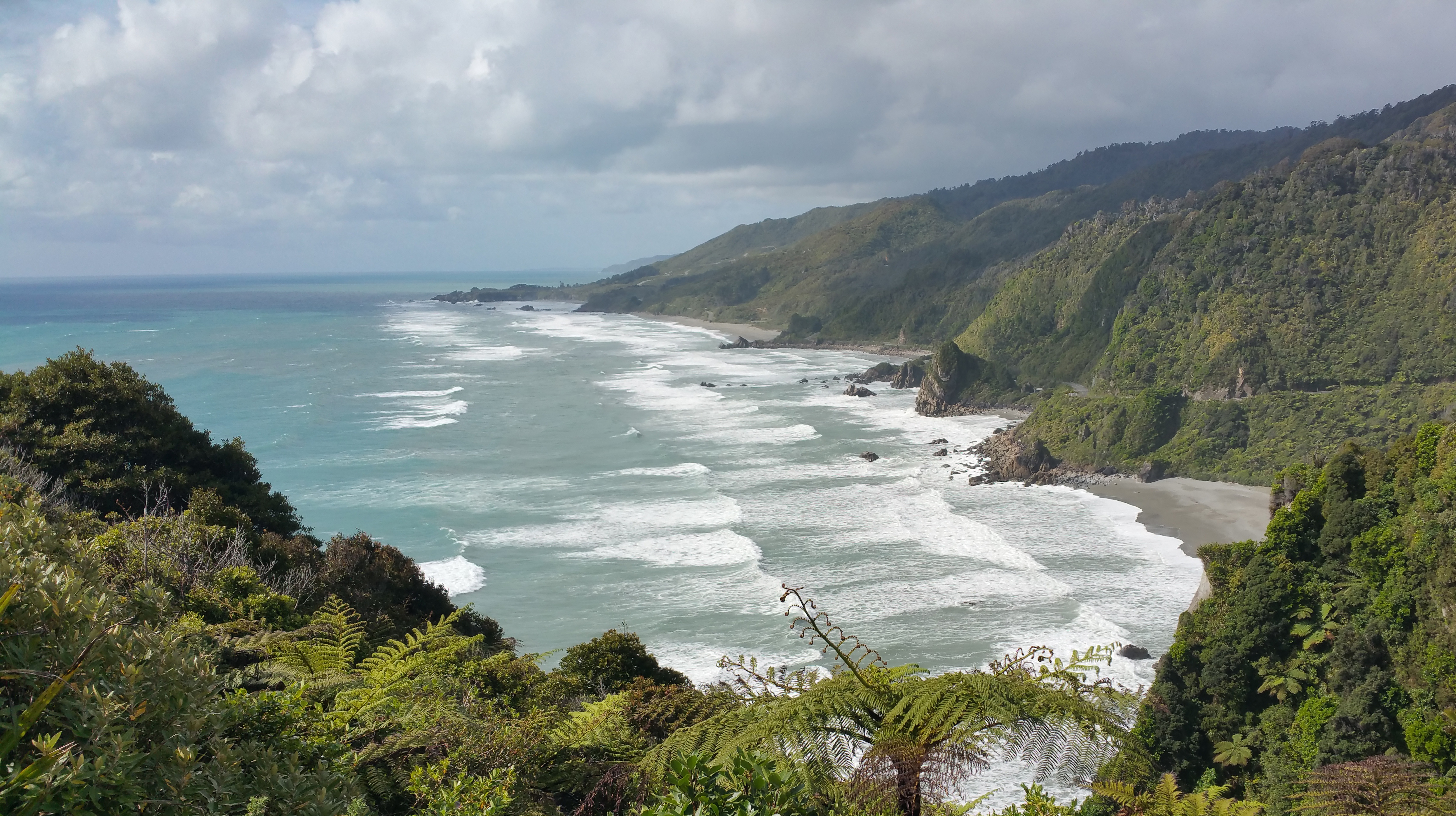 South Island West Coast (view from Perpendicular Point)