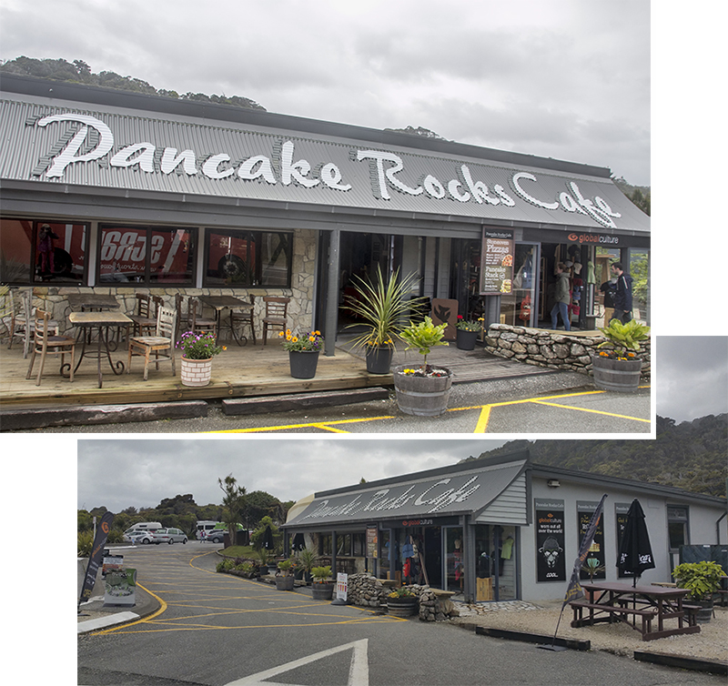 Pancake Rocks Cafe