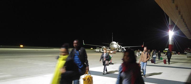 Tarmac of Zadar Airport