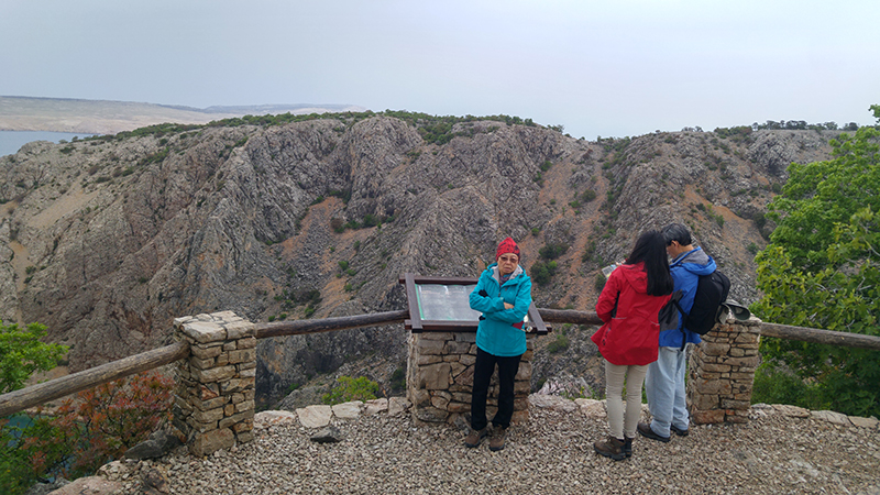 Uvala Zavrakniva High Point Observation Deck