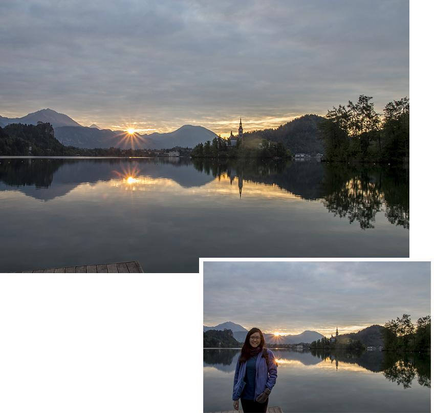 Lake Bled at 6 am