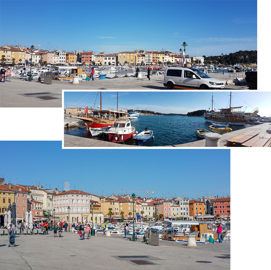 Rovinj Old Town, Port Front