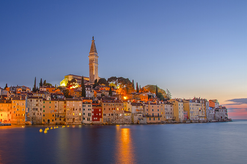 Rovinj Old town (co-ords: 45.084228, 13.634233)