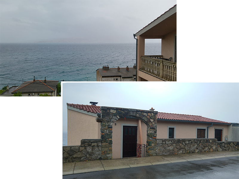Our accommodation at Senj