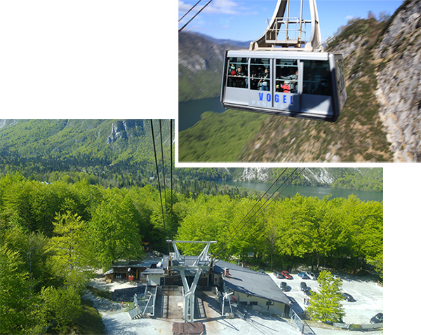 Vogel Cable car station at Bohinj Lake