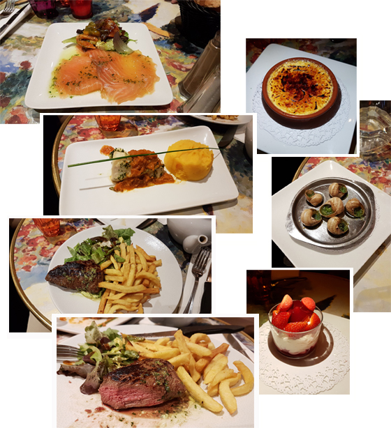 Yummy...(at Chez Claude Paris)